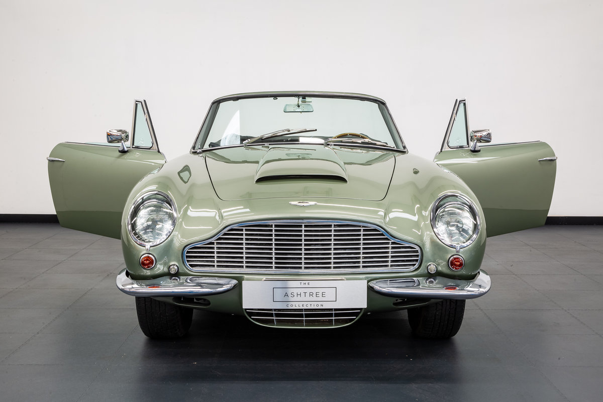 1968 ASTON MARTIN DB6 VOLANTE 1 of 140 CARS BUILT. For Sale (picture 4 of 6)