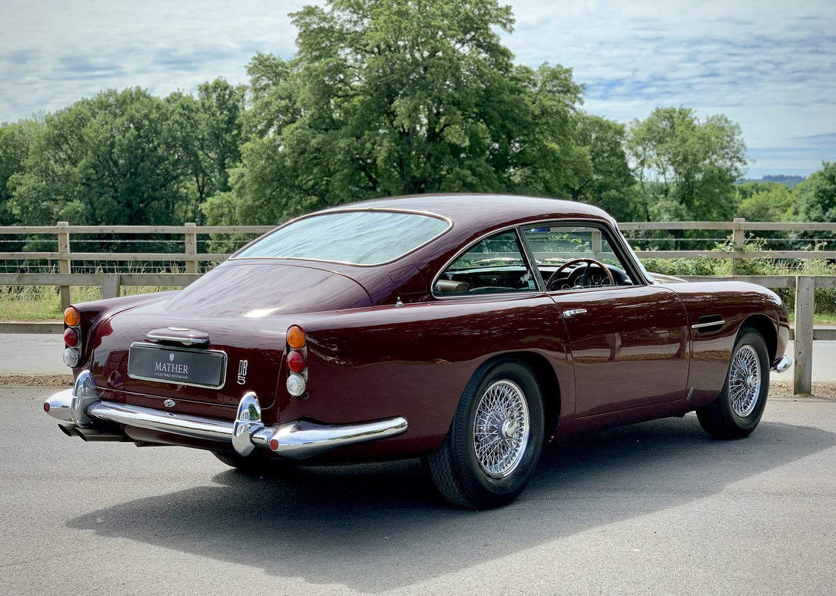 1964 Aston Martin DB5 Coupe  For Sale (picture 4 of 9)