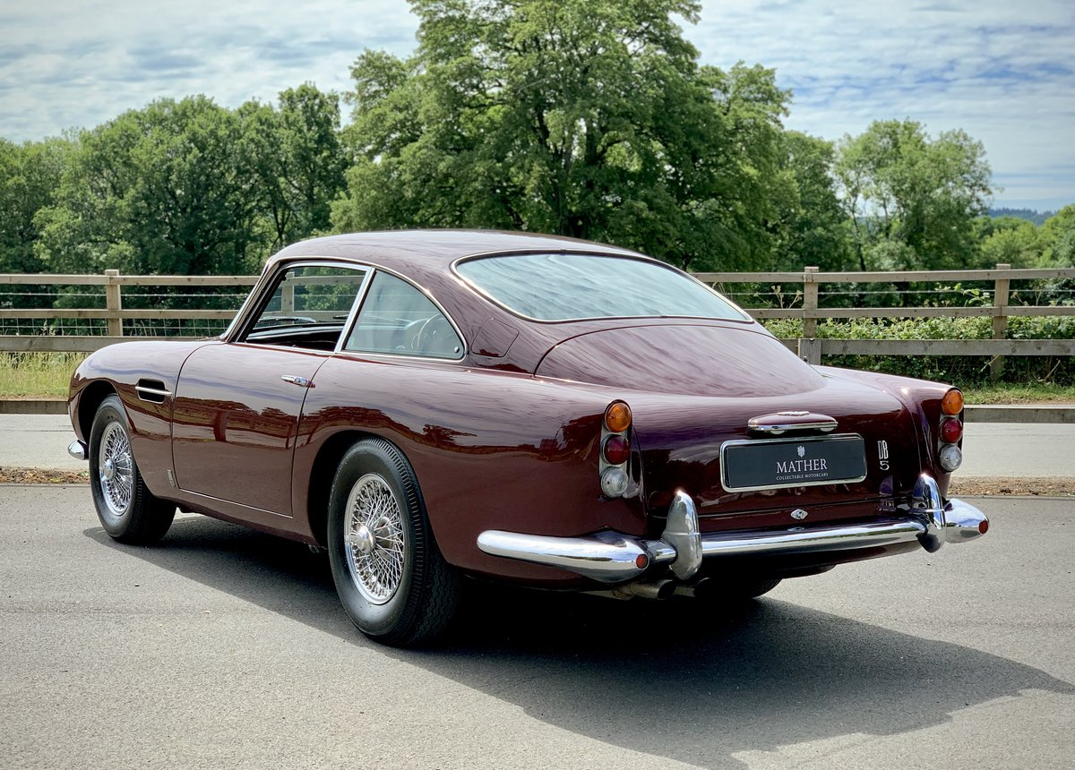 1964 Aston Martin DB5 Coupe  For Sale (picture 6 of 9)