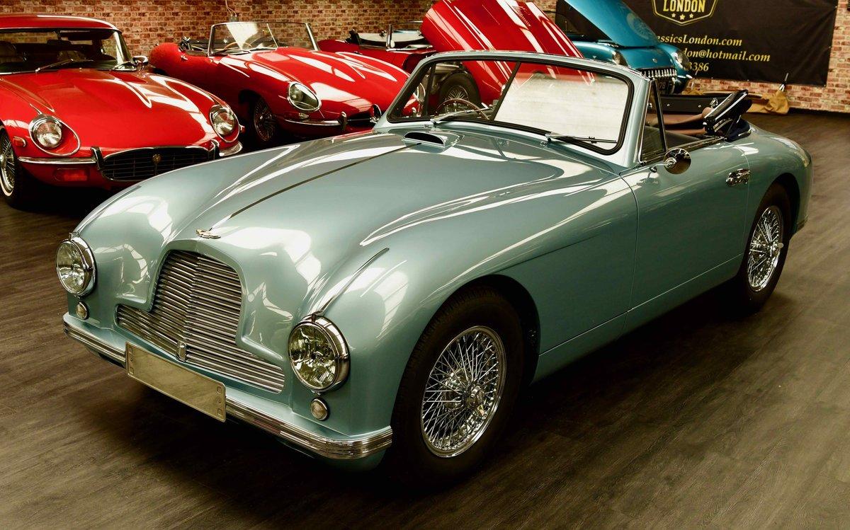 1952 Aston Martin DB2 Volante Vantage For Sale (picture 1 of 6)