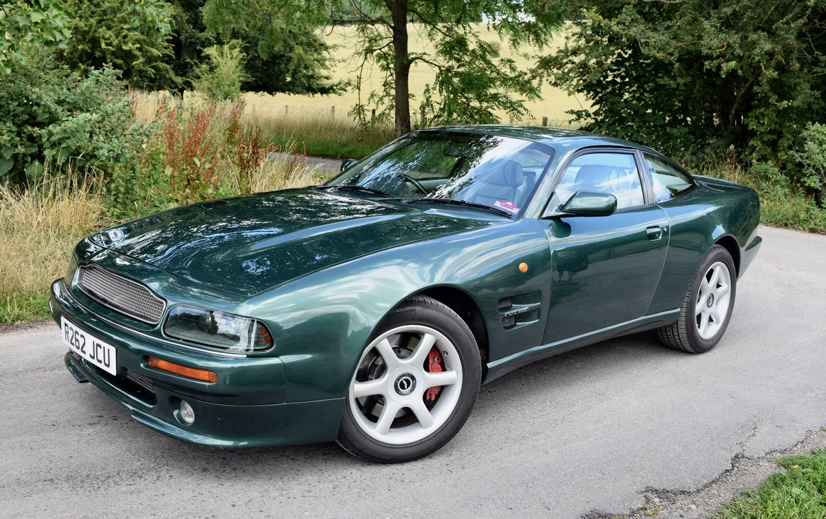 1997 Aston Martin V8 Coupe -- Manual For Sale (picture 1 of 6)