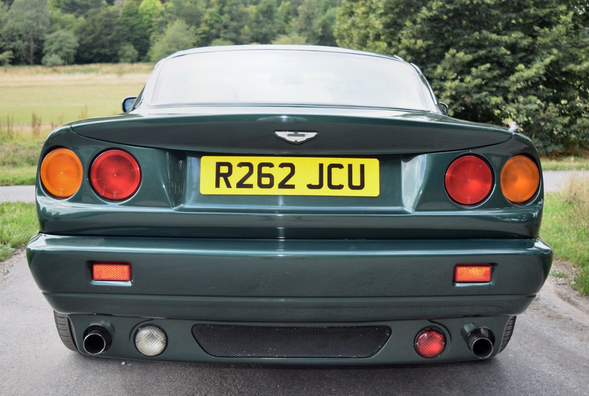 1997 Aston Martin V8 Coupe -- Manual For Sale (picture 4 of 6)