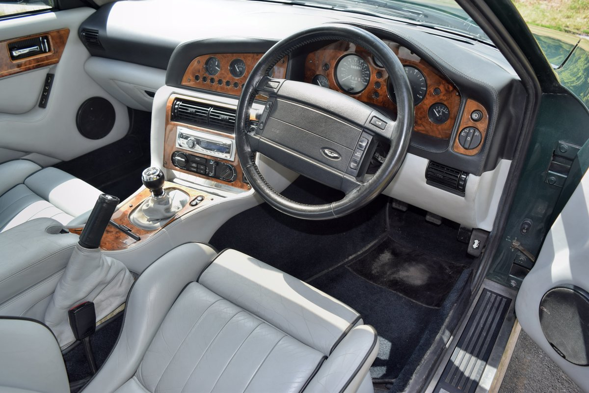 1997 Aston Martin V8 Coupe -- Manual For Sale (picture 5 of 6)
