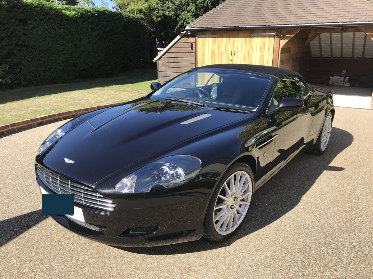 2006 Aston Martin DB9 Volante with FAMSH from new For Sale (picture 1 of 6)