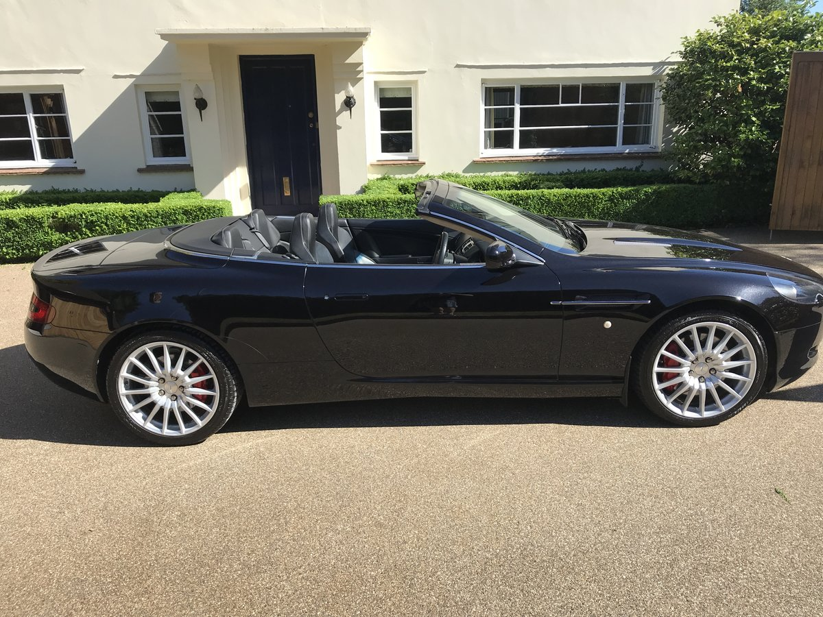 2006 Aston Martin DB9 Volante with FAMSH from new For Sale (picture 4 of 6)