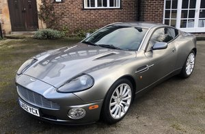 2003 Aston Martin Vanquish Fastidiously Maintained
