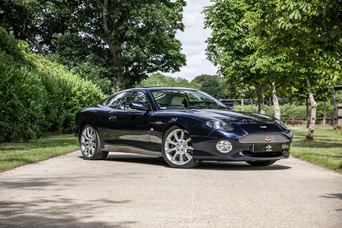 2003 Aston Martin DB7 V12 Vantage  For Sale (picture 1 of 23)