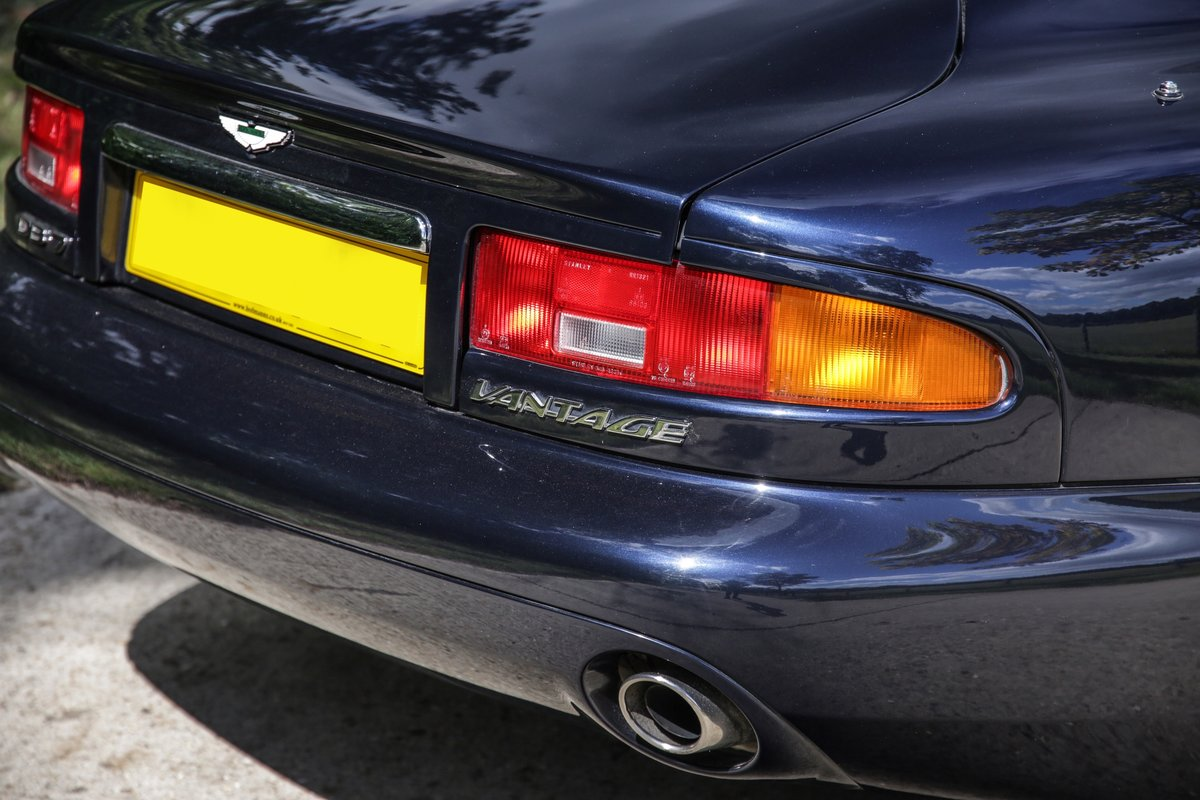 2003 Aston Martin DB7 V12 Vantage  For Sale (picture 22 of 23)