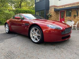 2007 ASTON MARTIN V8 VANTAGE MANUAL COUPE