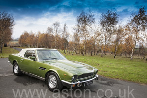 1979 Aston Martin V8 Volante 6 Speed Automatic For Sale