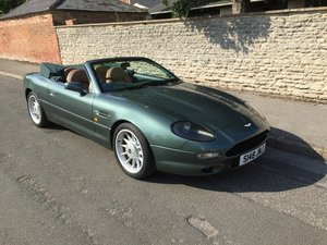 1998 ASTON MARTIN DB7 VOLANTE MANUAL