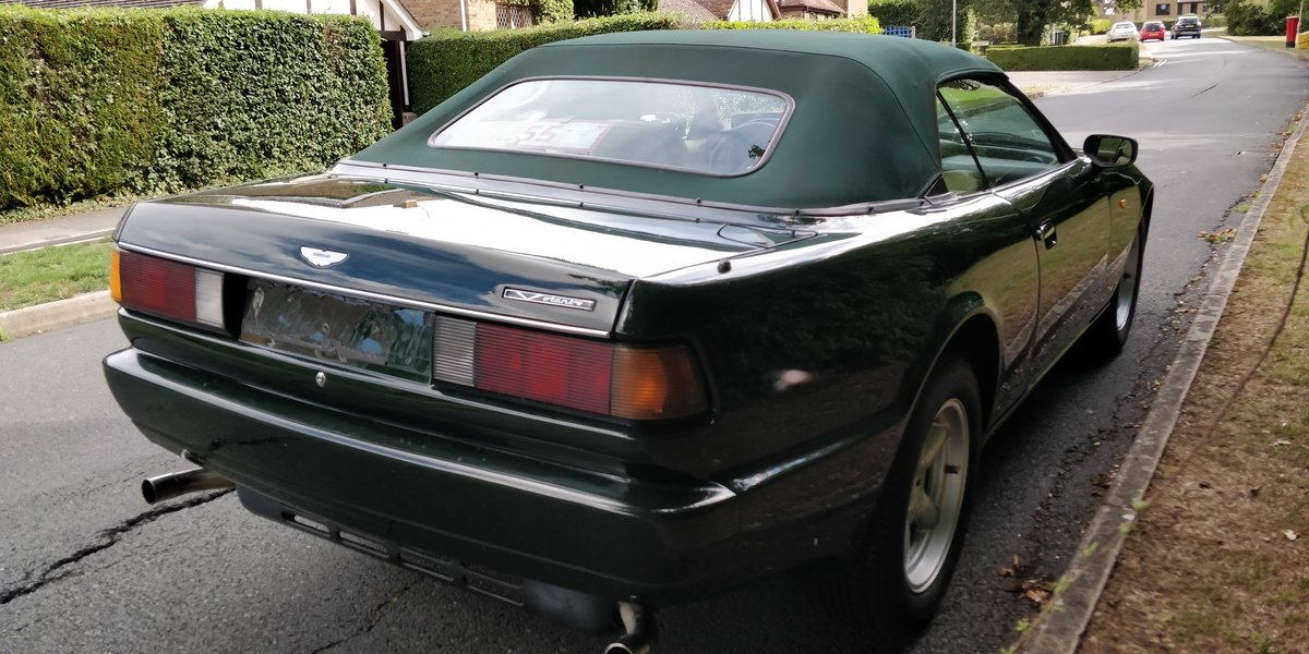 1992 1993 Aston Martin Virage Volante LHD - rare manual For Sale (picture 2 of 4)