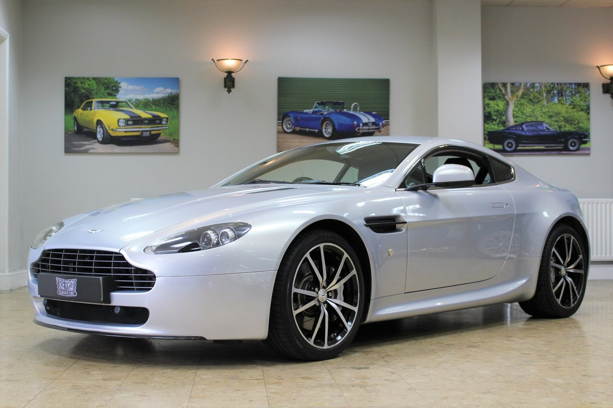 2011 Aston Martin Vantage 4.7 V8 N420 Coupe Manual | FSH For Sale (picture 1 of 10)