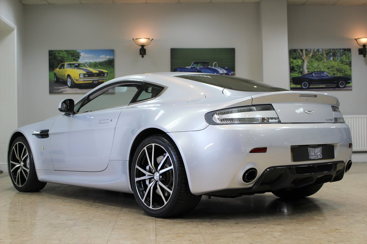 2011 Aston Martin Vantage 4.7 V8 N420 Coupe Manual | FSH For Sale (picture 3 of 10)