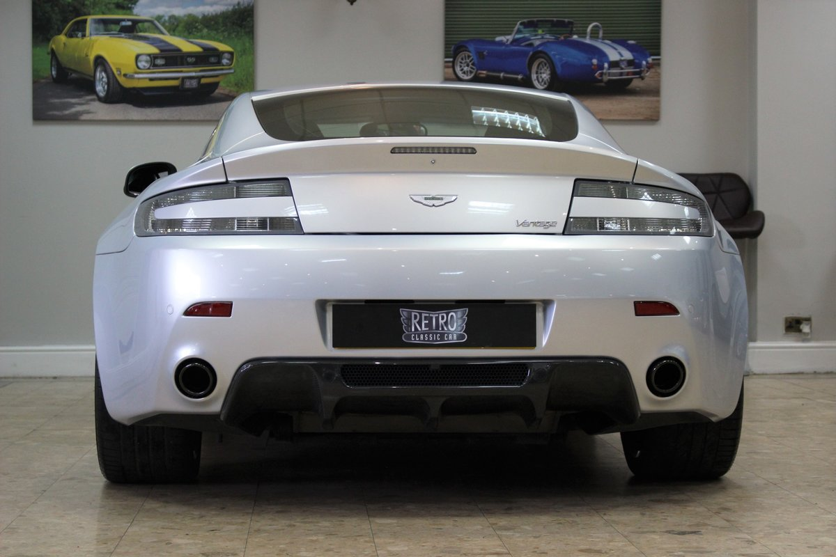 2011 Aston Martin Vantage 4.7 V8 N420 Coupe Manual | FSH For Sale (picture 4 of 10)