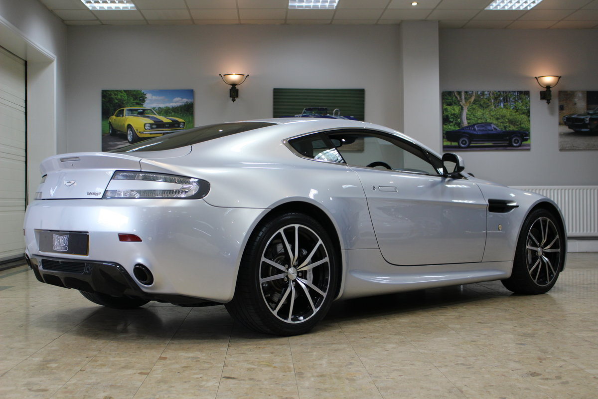 2011 Aston Martin Vantage 4.7 V8 N420 Coupe Manual | FSH For Sale (picture 9 of 10)