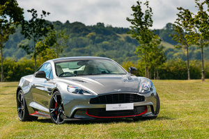 One of the last Aston Martin V12 Vanquish S made.