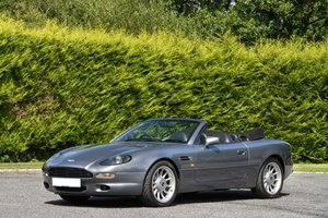 1997 Aston Martin DB7 Volante - 5 Speed Manual