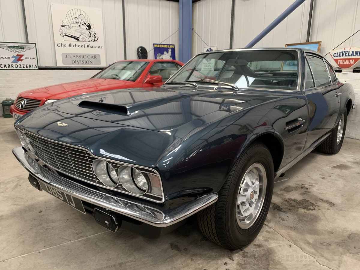 1971 Aston Martin DBS V8 Auto For Sale (picture 12 of 20)