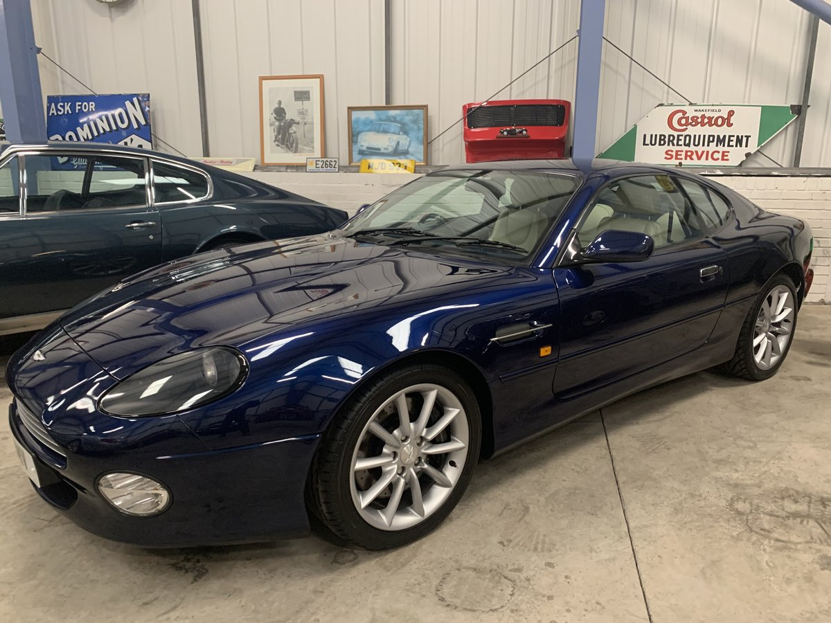 2001 ASTON MARTIN DB7 VANTAGE For Sale (picture 8 of 19)