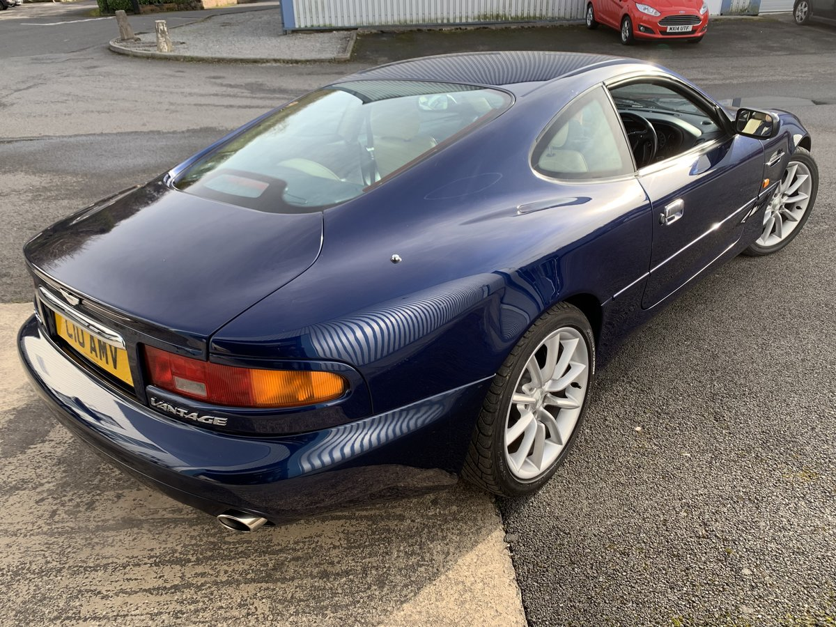 2001 ASTON MARTIN DB7 VANTAGE For Sale (picture 11 of 19)