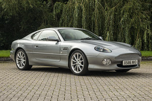 2000 ASTON MARTIN DB7 V12 VANTAGE MANUAL - NO RESERVE