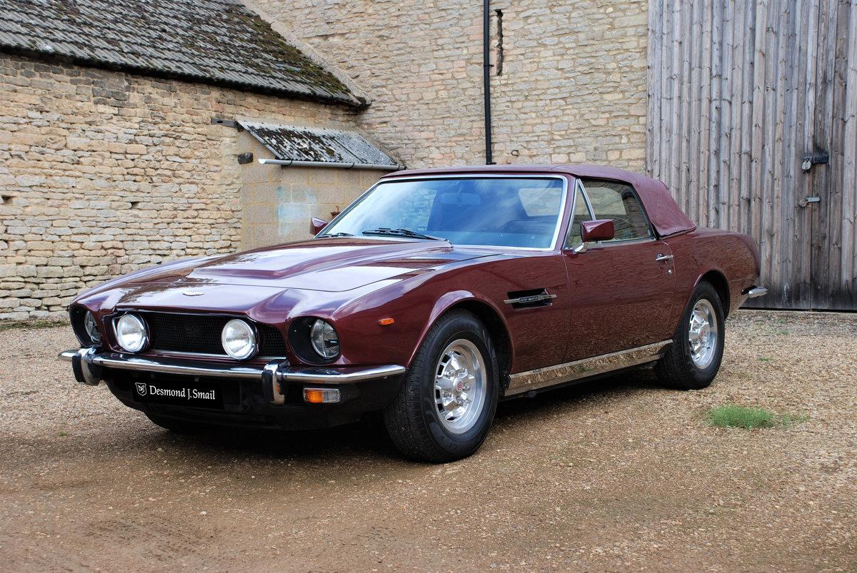 1979 Aston Martin V8 'S' Volante Manual For Sale (picture 4 of 6)