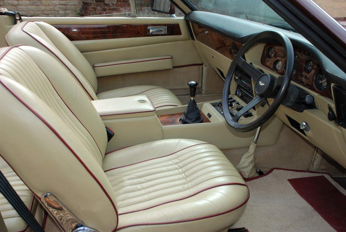 1979 Aston Martin V8 'S' Volante Manual For Sale (picture 5 of 6)