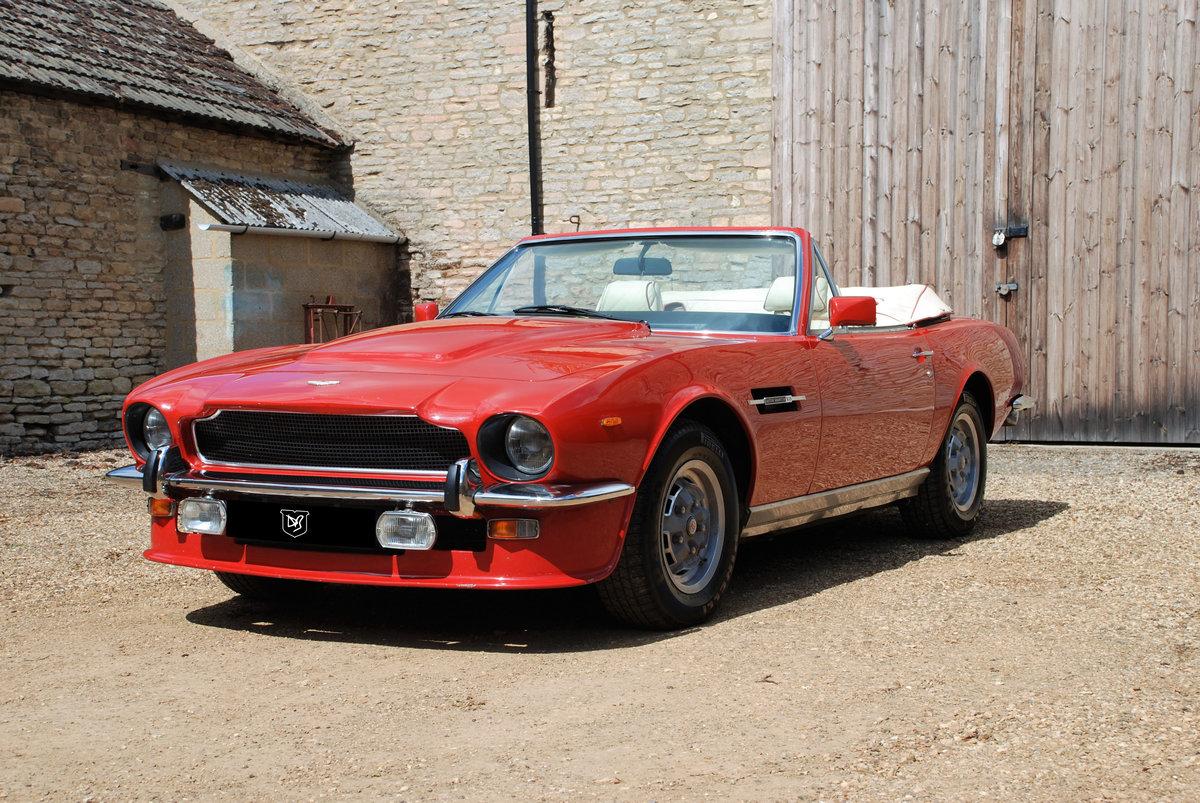 1979 Aston Martin V8 'S' Volante Manual For Sale (picture 1 of 6)