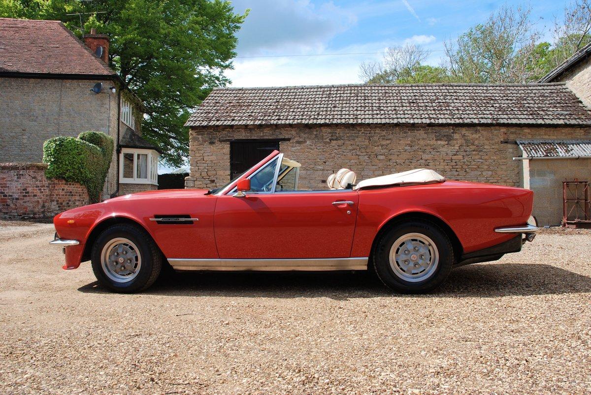 1979 Aston Martin V8 'S' Volante Manual For Sale (picture 2 of 6)