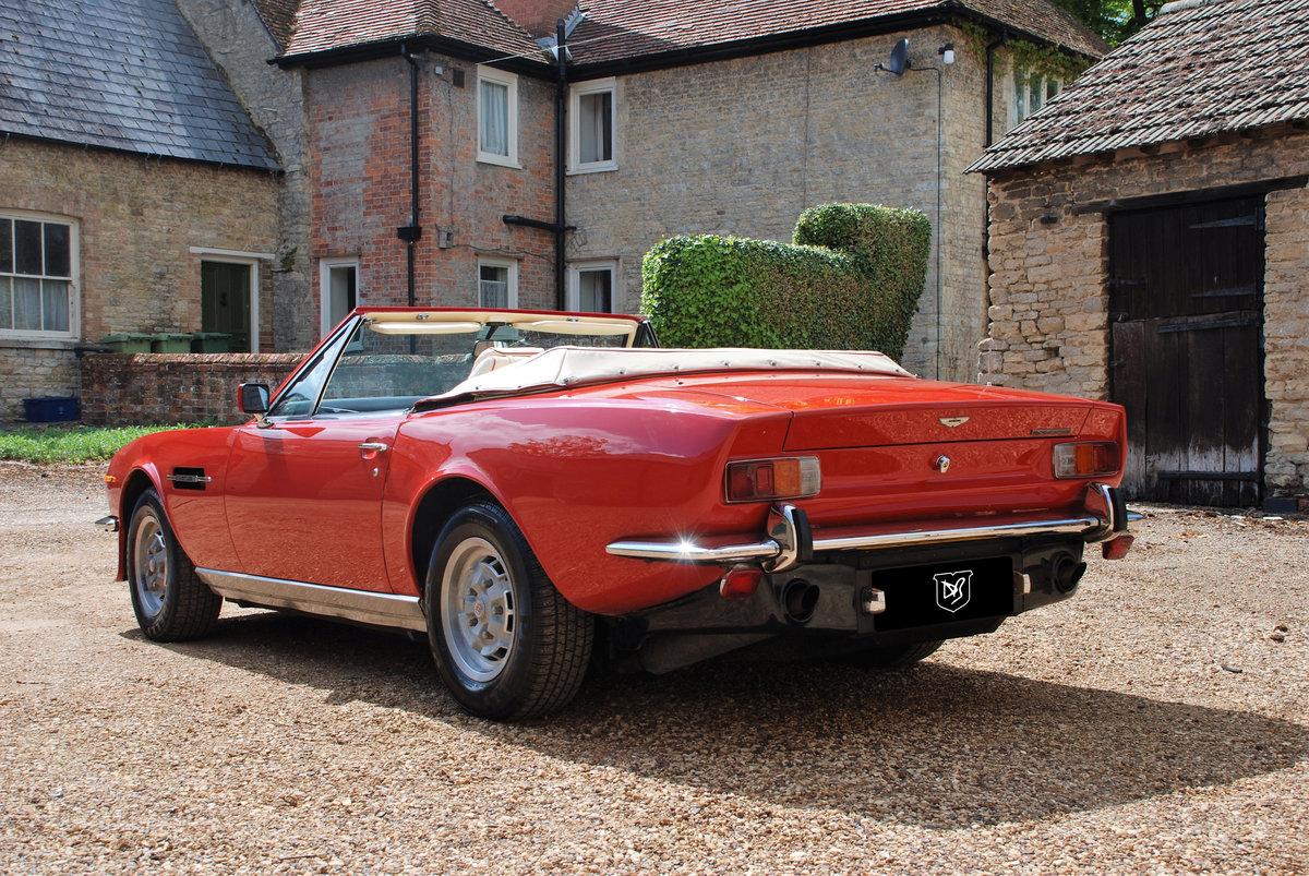1979 Aston Martin V8 'S' Volante Manual For Sale (picture 3 of 6)