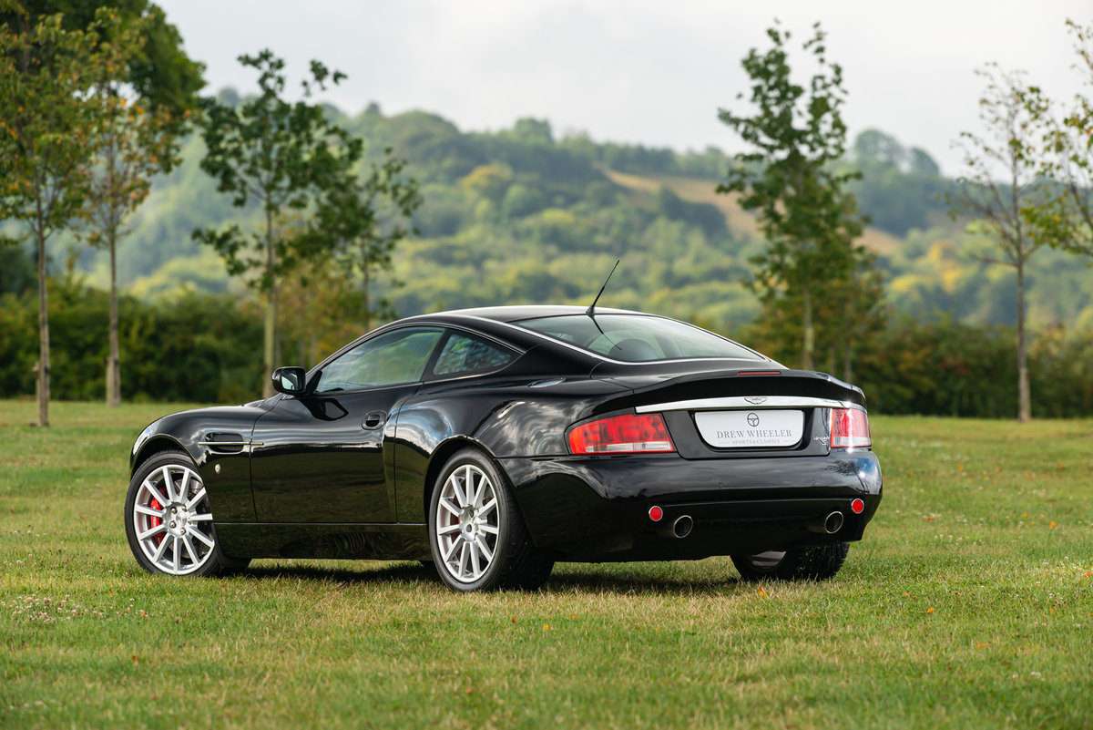 2007 Immaculate Aston Martin V12 Vanquish S For Sale (picture 5 of 6)