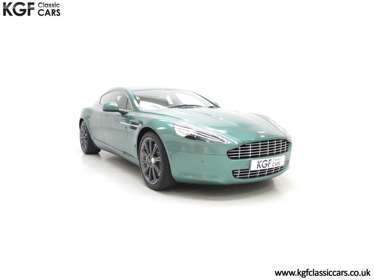 2010 A Rare Aston Martin Rapide in Almond Green Just One of Four  SOLD (picture 1 of 24)