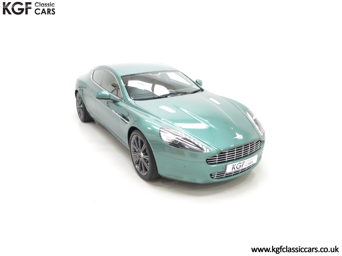 2010 A Rare Aston Martin Rapide in Almond Green Just One of Four  SOLD (picture 2 of 24)