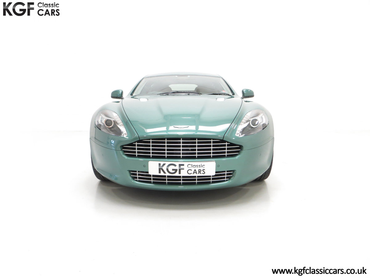 2010 A Rare Aston Martin Rapide in Almond Green Just One of Four  SOLD (picture 3 of 24)