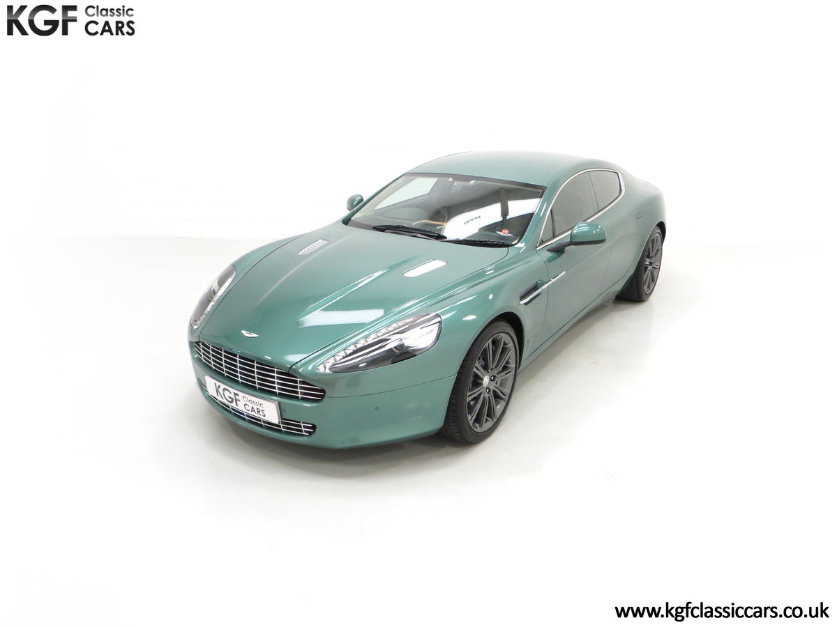 2010 A Rare Aston Martin Rapide in Almond Green Just One of Four  SOLD (picture 5 of 24)