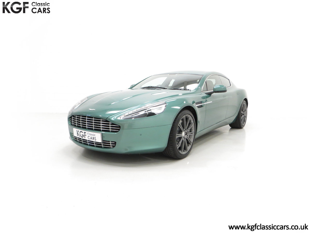 2010 A Rare Aston Martin Rapide in Almond Green Just One of Four  SOLD (picture 6 of 24)