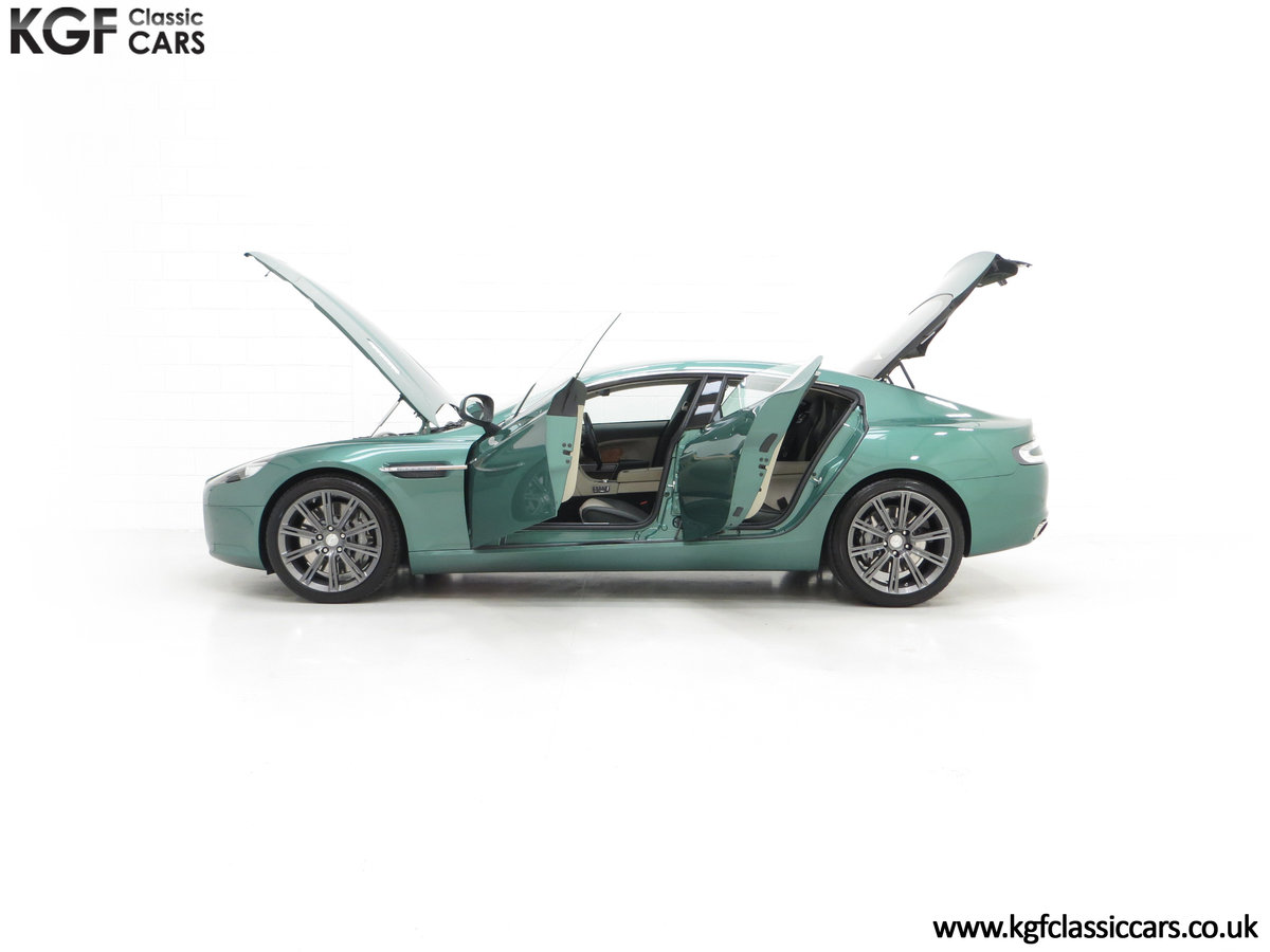 2010 A Rare Aston Martin Rapide in Almond Green Just One of Four  SOLD (picture 7 of 24)
