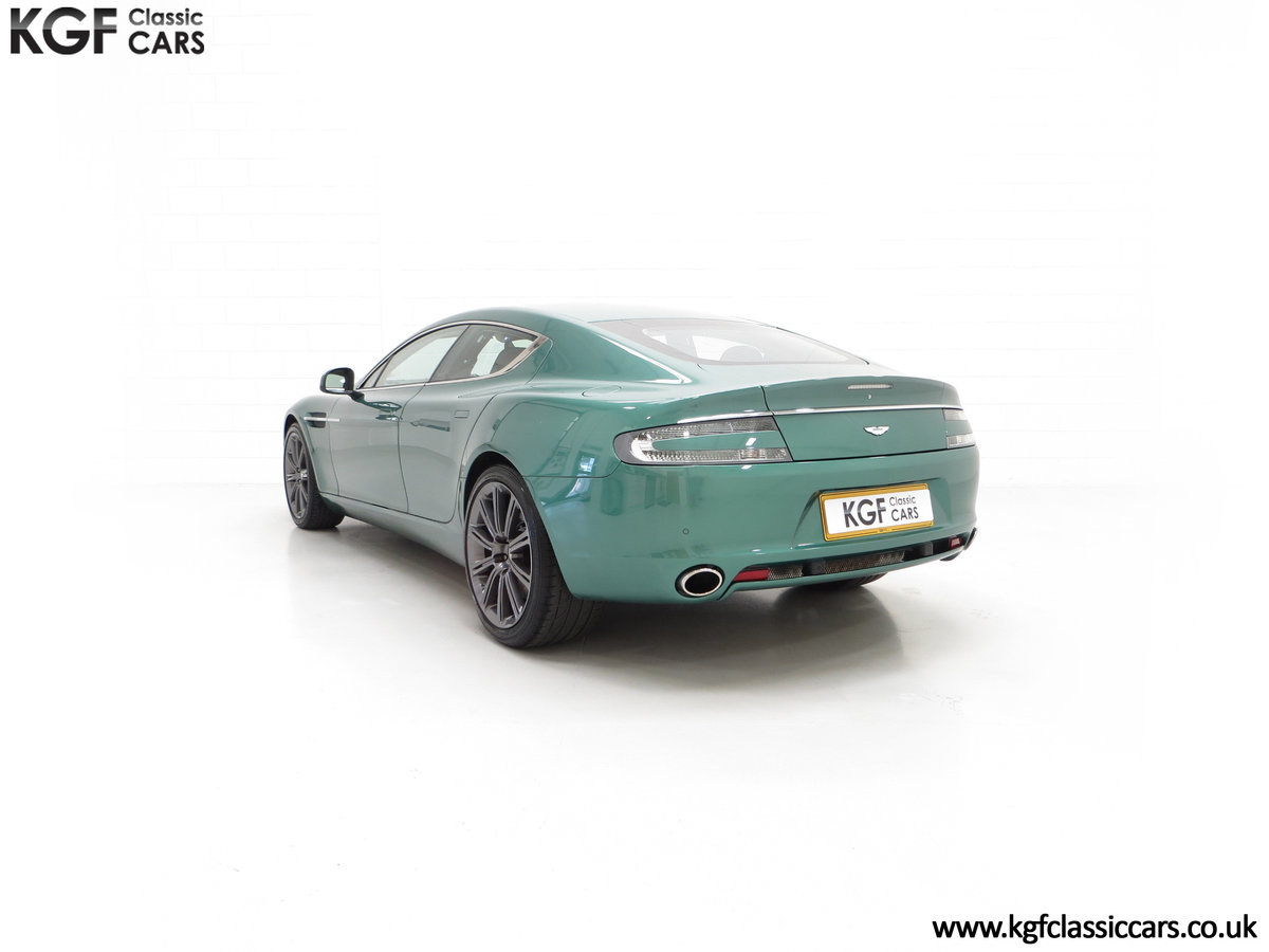 2010 A Rare Aston Martin Rapide in Almond Green Just One of Four  SOLD (picture 8 of 24)
