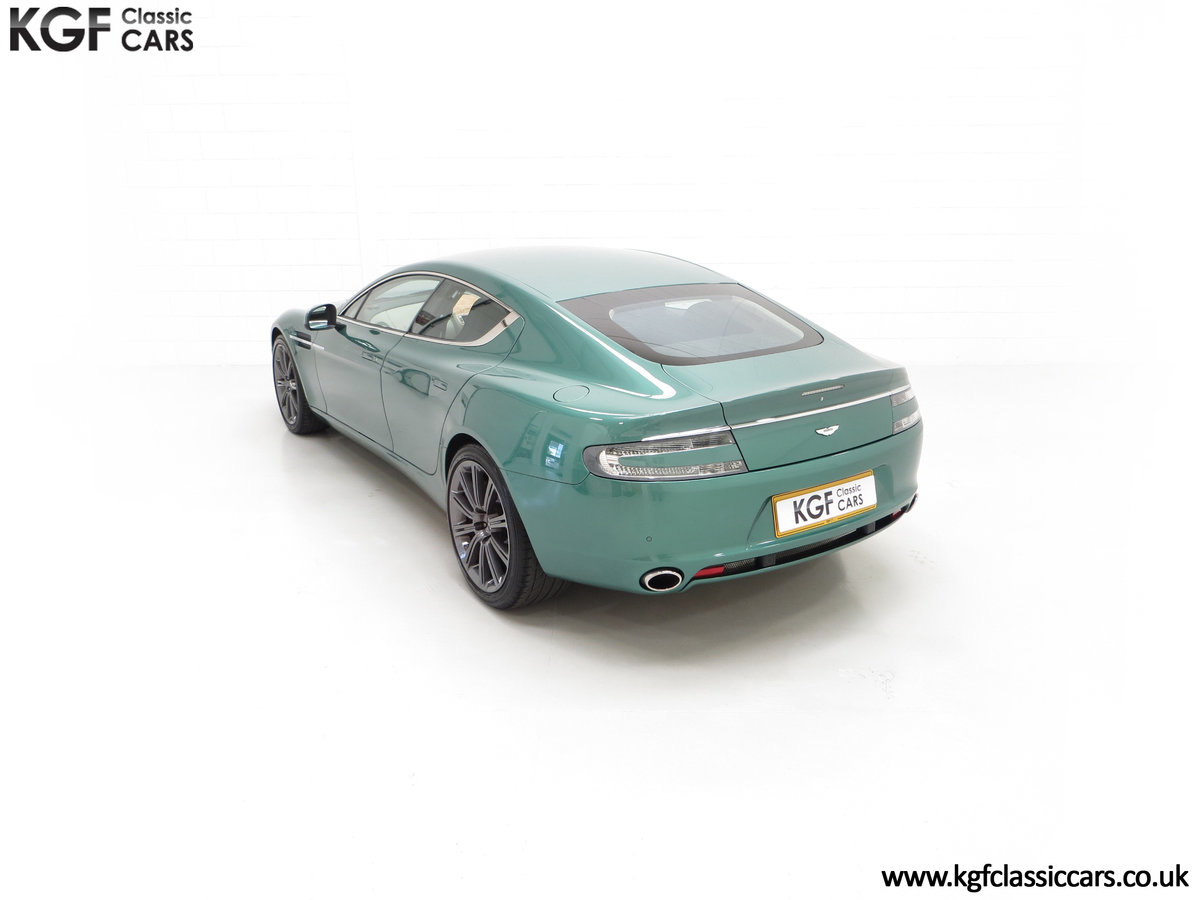 2010 A Rare Aston Martin Rapide in Almond Green Just One of Four  SOLD (picture 9 of 24)