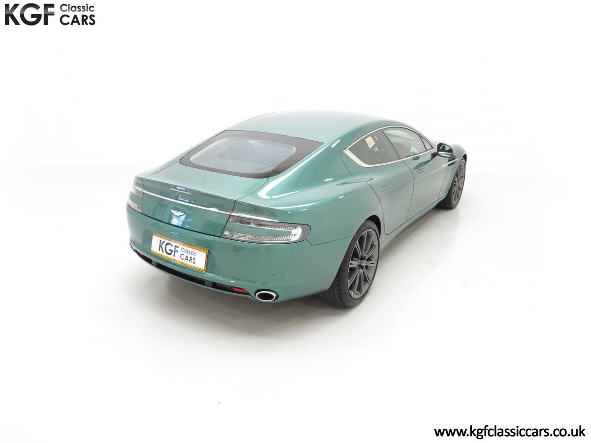 2010 A Rare Aston Martin Rapide in Almond Green Just One of Four  SOLD (picture 12 of 24)