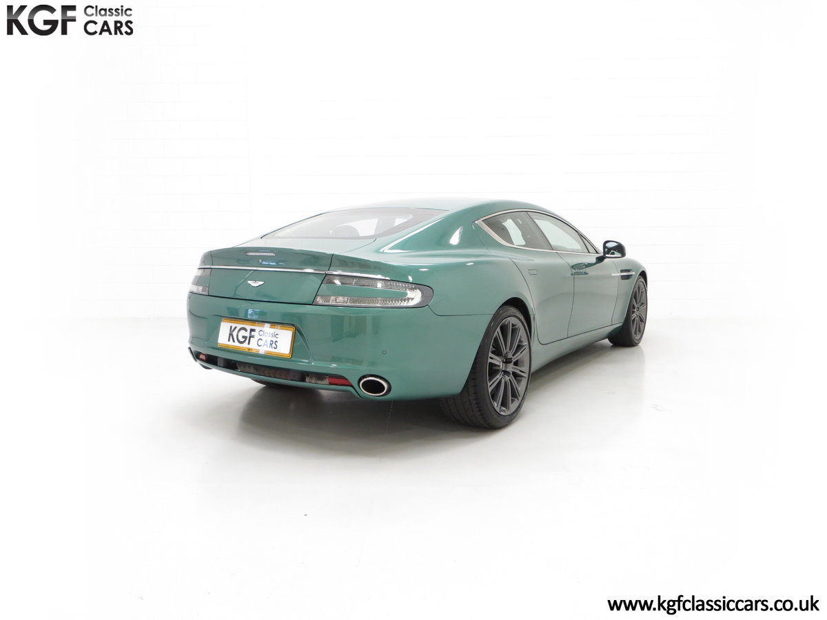 2010 A Rare Aston Martin Rapide in Almond Green Just One of Four  SOLD (picture 13 of 24)