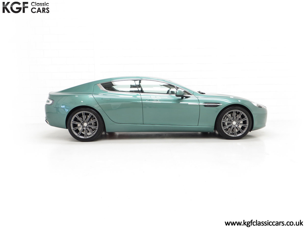 2010 A Rare Aston Martin Rapide in Almond Green Just One of Four  SOLD (picture 14 of 24)