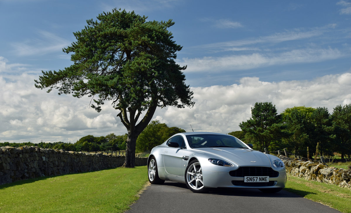 2007 Aston Martin 4.3 V8 Vantage 57 plate For Sale (picture 1 of 6)