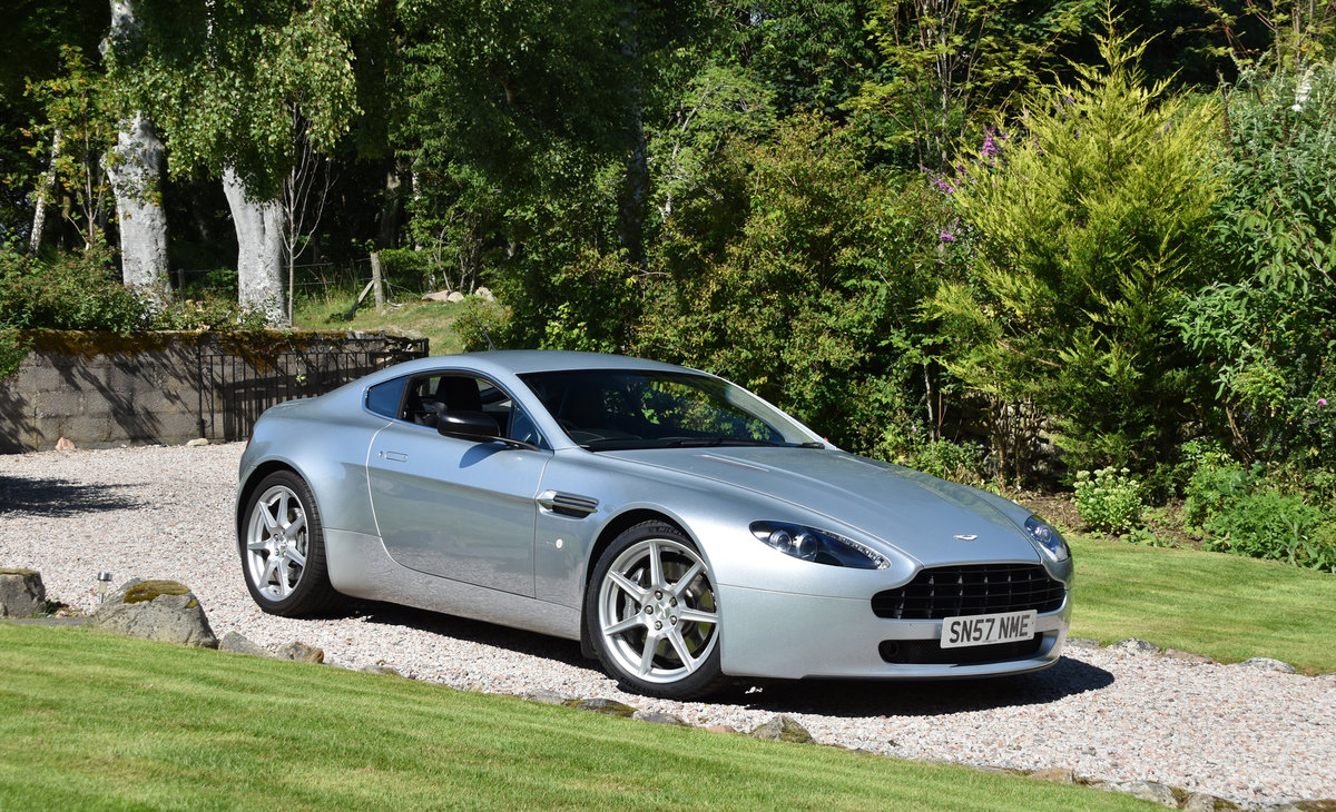 2007 Aston Martin 4.3 V8 Vantage 57 plate For Sale (picture 2 of 6)