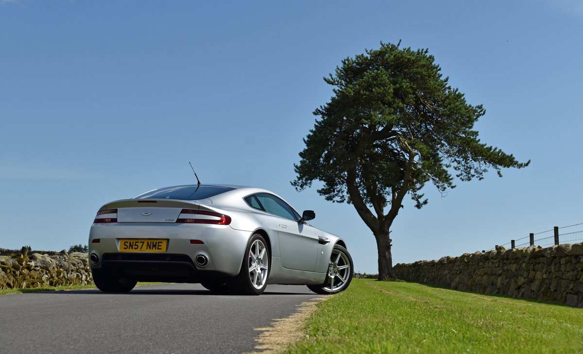 2007 Aston Martin 4.3 V8 Vantage 57 plate For Sale (picture 5 of 6)