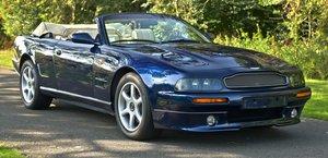 1998 ASTON MARTIN V8  VOLANTE LWB LEFT HAND DRIVE.