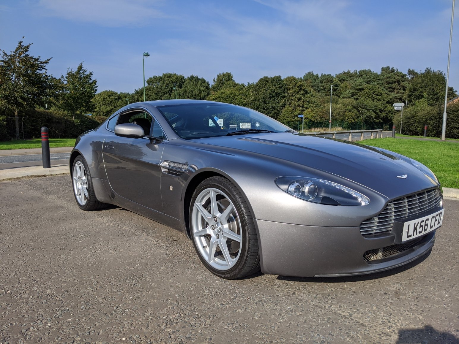 2006 Aston Martin Vantage V8 - Full AM Service History For Sale (picture 1 of 6)