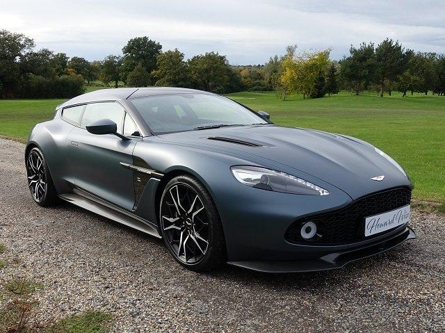 2019 Aston Martin Vanquish Zagato V12 Shooting Brake Auto For Sale (picture 1 of 6)