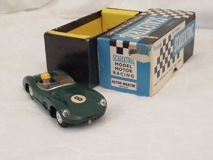 Lovely boxed scalextric aston